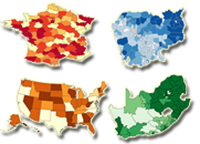 Shapefile maps