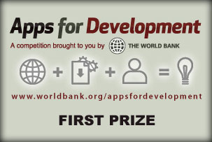 World Bank Apps for Development First Prize Award